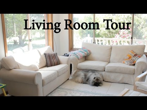 Tour of Our Minimalist Living Room (Baby-Proof Too!)