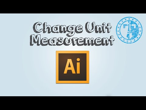How to change unit of measurement in Adobe Illustrator
