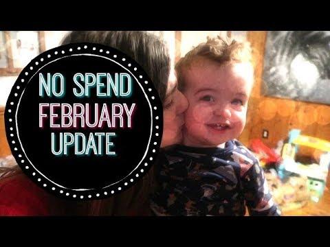 NO SPEND FEBRUARY UPDATE!