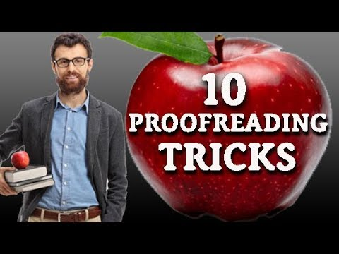 How to Proofread Tutorial: 10 Proofreading Techniques They Didn't Teach You in School