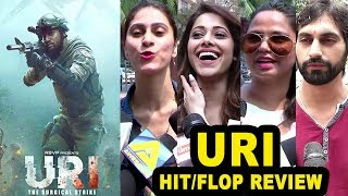 Uri Movie: India's Reply To Pakistan - Hit or Flop Honest Review By Public - Vicky Kaushal,