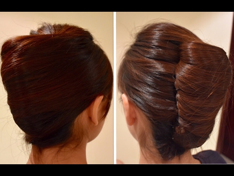 Easy French Twist for Long hair