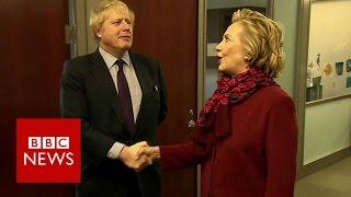 Gaffes and glory: Boris Johnson abroad - BBC News