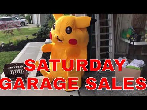 Saturday Garage Sale Haul-Harley Stuff, Bobbleheads & More Furniture!
