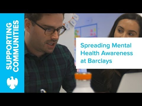 David Spears on introducing Mental Health Awareness initiatives | Barclays