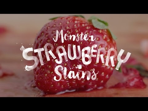 "Persil presents ""Monster Strawberry Stains"""