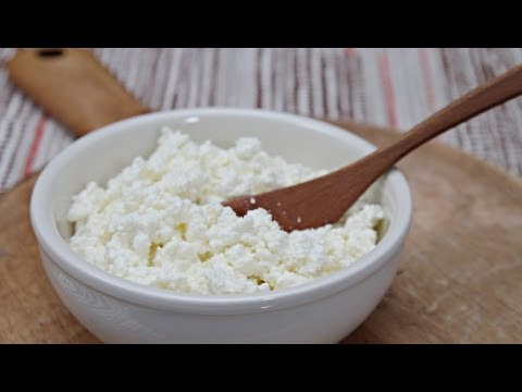 How to Make Ricotta Cheese - with Cow's Milk or Goat's Milk