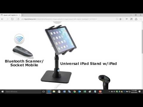 How to Install a Square Cash Register with Square Supported Hardware.