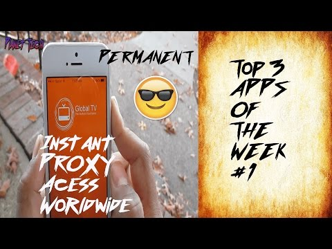 TOP 3 APPS OF THE WEEK #1 *KODI INCLUDED FROM APPSTORE*