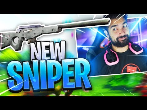 NEW SNIPER (It Hits COLLATERALS) - Fortnite: Battle Royale