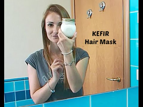 DIY: KEFIR Hair Mask #02