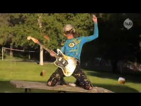 The Aquabats! Burger Rain Music Video - The Hub