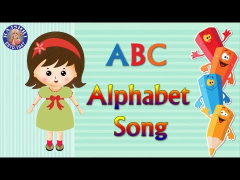 ABC Alphabet Song - My Name Is Amy - Learn Series For Kids