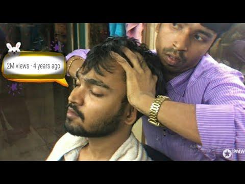 Best Indian Head Massage - Scalp and Upper Body Massage by Sunil | Episode- 1| ASMR | 100th Upload