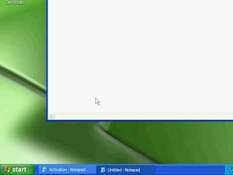 Activate Windows XP