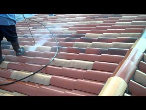 Tile Roof Maintenance During Pressure Washing- Miami, FL- Istueta Roofing