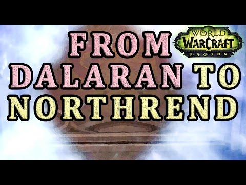 How to get from Dalaran to Northrend WoW