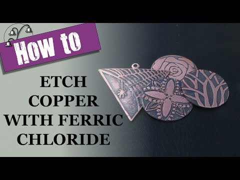 How to Etch Copper with Ferric Chloride