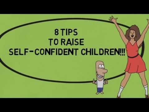 Raise Self Confident Children | 8 Tips