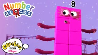 Rectangle Race! 🏁| Numberblocks | CBeebies