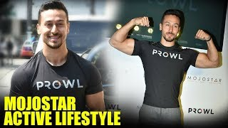 Tiger Shroff At The Launch Of 1st MOJOSTAR ACTIVE LIFESTYLE Clothes Brand