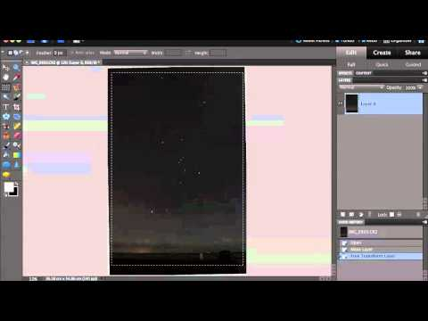 Photoshop Quick Tutorial - Star Photography