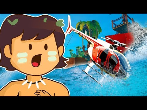 SECRET HELICOPTER WRECKAGE FOUND UNDERWATER? | Raft (New Update Let's Play/Gameplay Full Release)