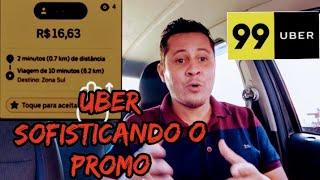 🧐 UBER PROMO AGORA É ASSIM 🧐#uber#uberdaquebradavip#99pop