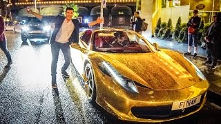 ASKING BILLIONAIRE'S TO RIDE THEIR SUPERCARS!