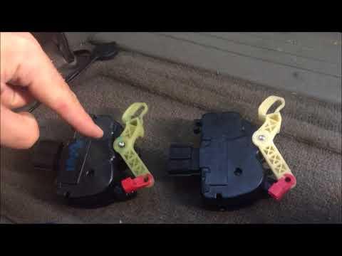 Sliding Door Motor Replacement - Dodge Caravan