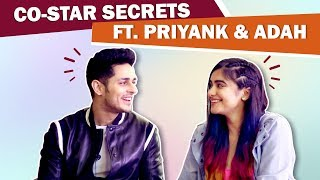 Priyank Sharma & Adah Sharma's Co-Star Secrets | First Impression, Retakes & More | Holiday