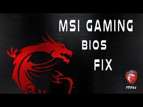 MSI Gaming Motherboard BIOS Corrupt or Boot Loop Repair Fix