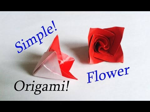 Easy Origami Flower Tutorial / Needs just 10 Minutes!