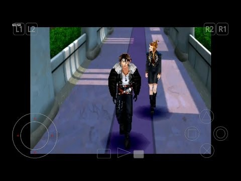 ePSXe Emulator 1.9.15 for Android | Final Fantasy VIII [720p HD] | Sony PS1