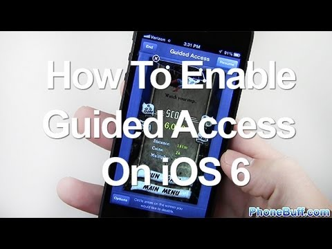 How To Enable Guided Access On iPhone or iPad