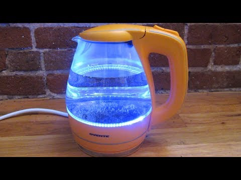 Ovente Electric Kettle | Boiling Water Demo | Model KG83B
