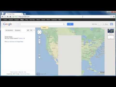 How to Get Google Maps Latitude Longitude