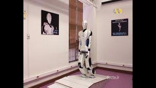 Iran made Surena 3 Humanoid Robot report سورنا سه ربات انسان نماي ايران