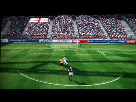 FIFA World Cup 2010 South Africa - Bizarre Goal Miss - England Vs Scotland