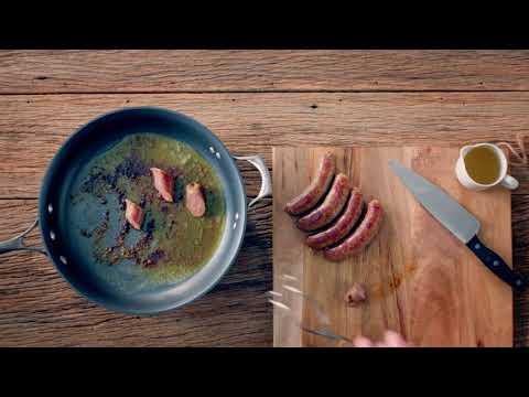 Recipe: Rigatoni Sausage Carbonara