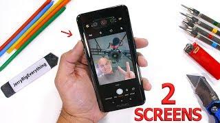 Incredible Dual Screen Smartphone - Durability Test!