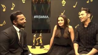 Varun & Alia sing Tamma Tamma at 9th Royal Stag Mirchi Music Awards | #RSMMA