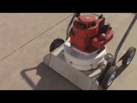 Getting an Old Lindell Yard Vacuum Working Again