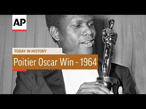 Sidney Poitier Oscar Win - 1964 | Today In History | 13 Apr 18