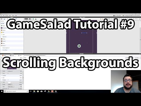 GameSalad Tutorial #9 - Scrolling Backgrounds