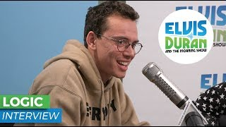 Logic Opens Up About Creating Positive Music | Elvis Duran Show