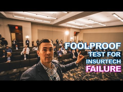 Foolproof Test for InsurTech FAILURE