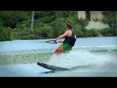 TOESIDE JUMP Wakeboard instructional(demo)