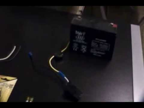 How To Modify 6 Volt Power Wheels Battery To Run A 12 Volt Battery - Power Wheels Modified