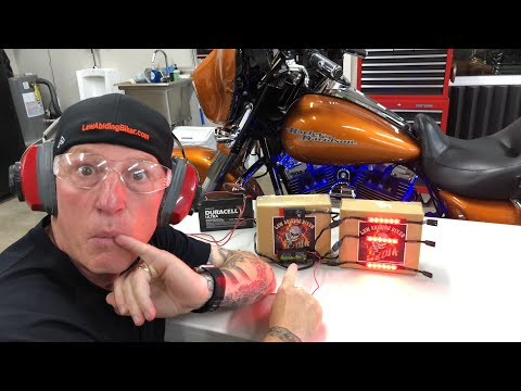 Insane Reveal-NEW  Shock & Awe 2.0 LED Lights, Controller, & App for Harley-Ciro 3D!!